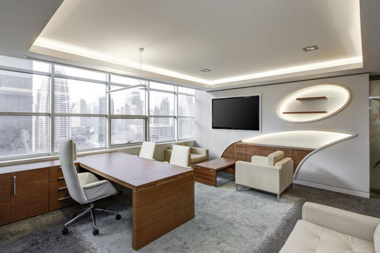 Büroraum in Hochhaus
